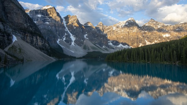 6316 - Valley of the Ten Peaks & Moraine Lake in Banff National Park.   Alberta Canada by Ken Anderson Photography