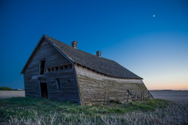 Leaning Barn by Ken Anderson Photography