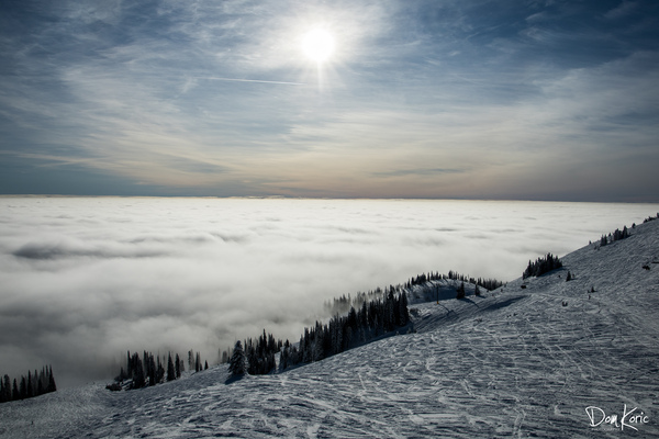 Descent to the Clouds by KoricPhoto