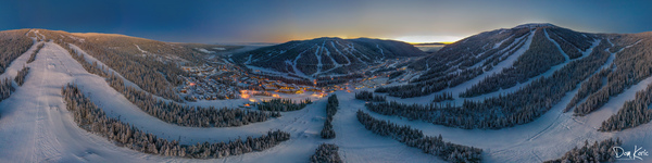 Valley Twilight Wide by KoricPhoto