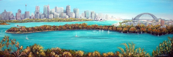 Sydney Harbour by Linda Callaghan
