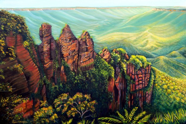 Timeless Blue Mountains by Linda Callaghan