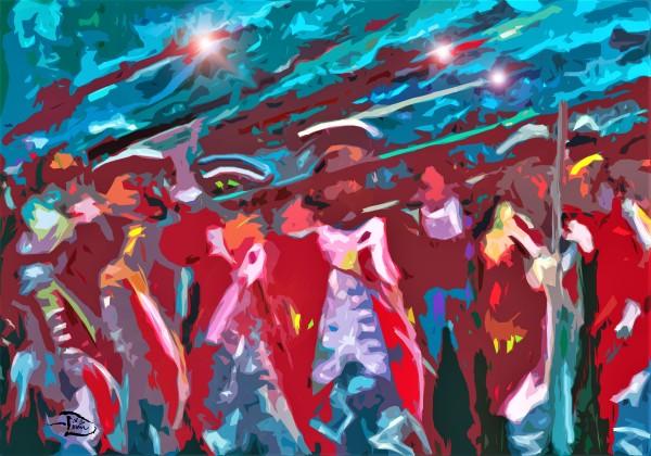 Battle of Trenton Moderne by Lowell Phoenix Devin