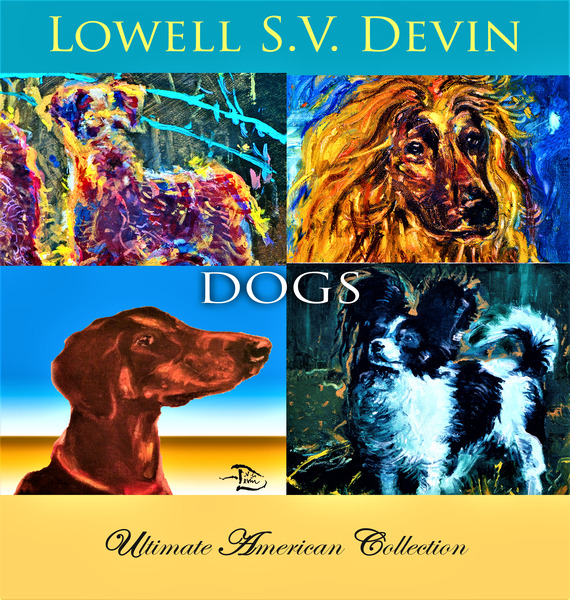 Devin Dogs UAC Show Poster by Lowell Phoenix Devin