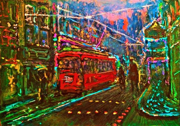 Green Street Metro by Lowell Phoenix Devin