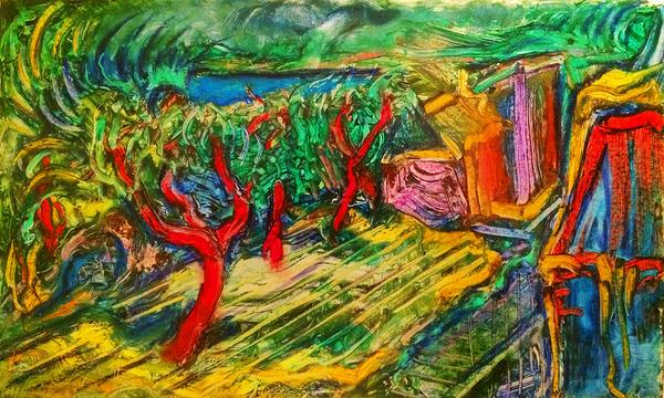 Hula Trees by Lowell Phoenix Devin