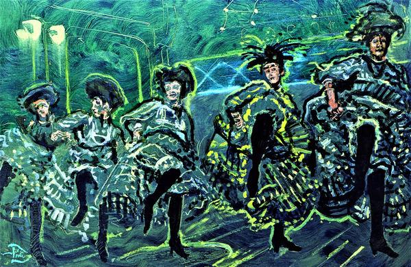 Moulin Vert  by Lowell Phoenix Devin