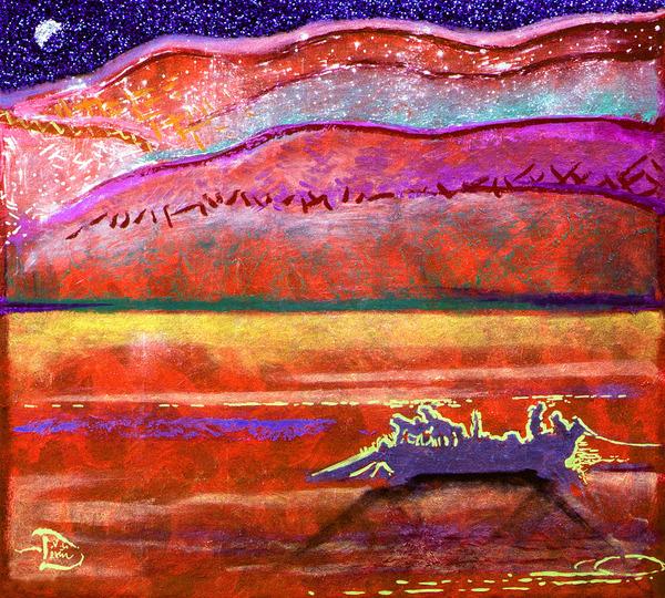 Night of a Teardrop by Lowell Phoenix Devin