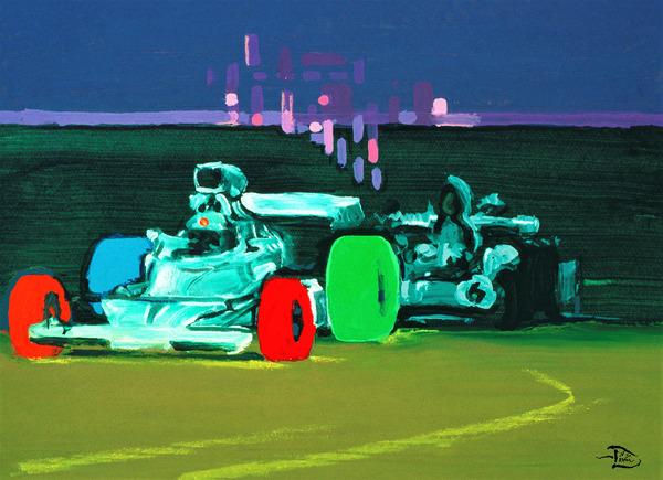 Painted Desert Speedway by Lowell Phoenix Devin