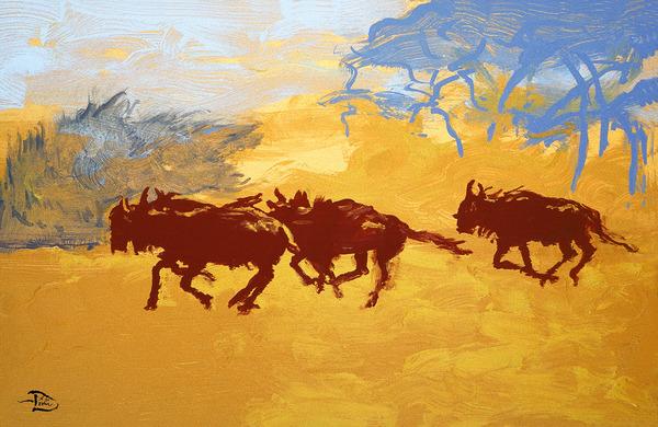 Plains Escape  by Lowell Phoenix Devin