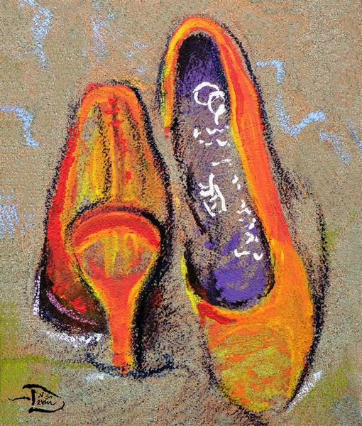 Sandy Pumps by Lowell Phoenix Devin