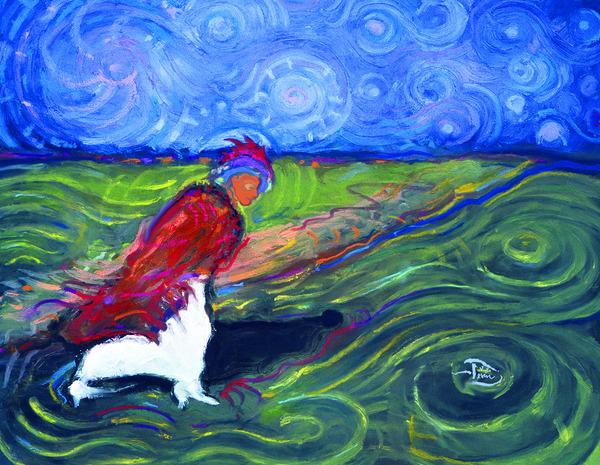 Starry Daye Pacing East by Lowell Phoenix Devin