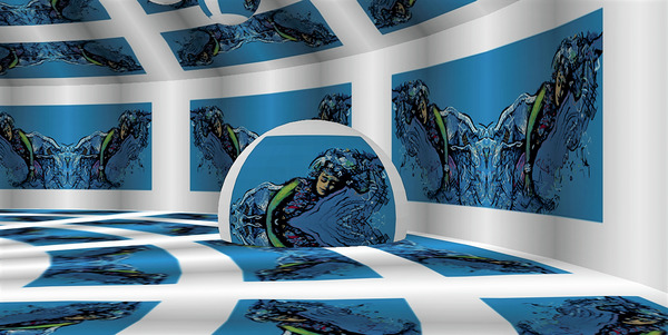 Sinking Spell Dream Wheel by Lowell Phoenix Devin