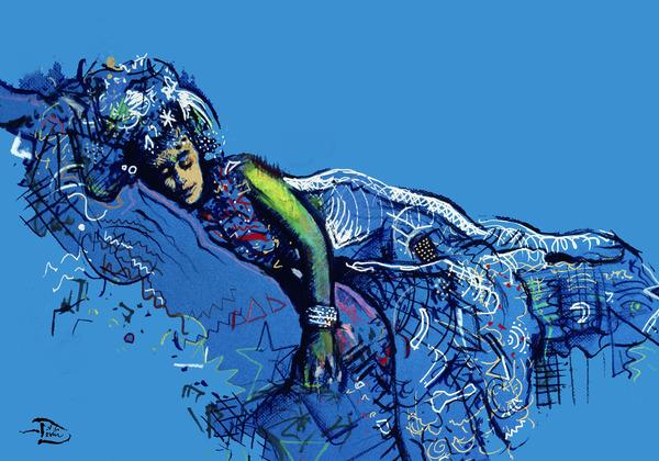 The Sinking Spell by Lowell Phoenix Devin
