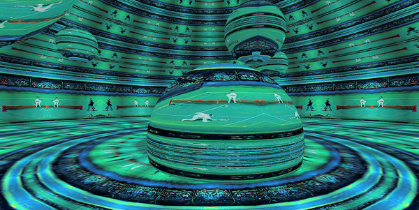 Space Station RoomXpander Center Court by Lowell Phoenix Devin
