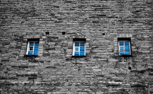 Blue Windows  Print