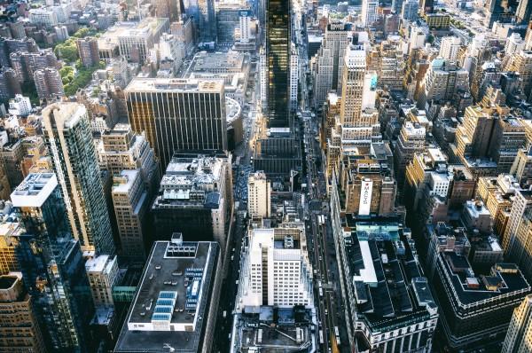 New York city Skyline View  by Luis Bonetti
