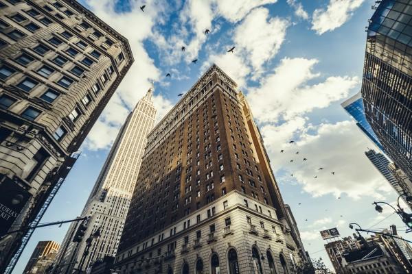 New York Sky by Luis Bonetti