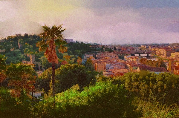 Firence - View from the Piazzale Michelangolo by Lutz Roland Lehn