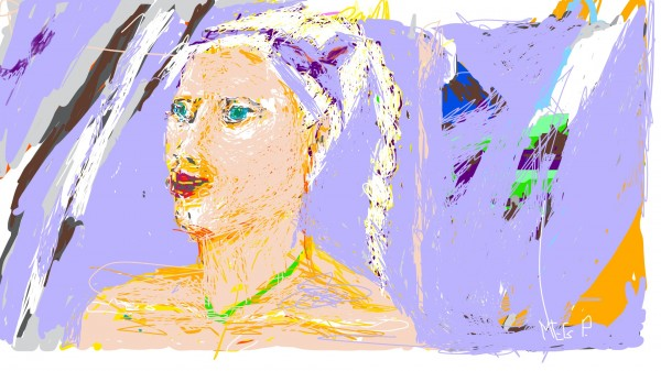 Sketch.blondwabstractpng by Meg Polz