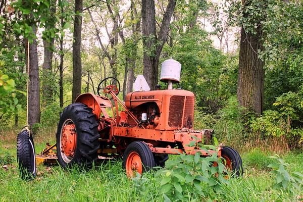 Vintage Tractor  Print