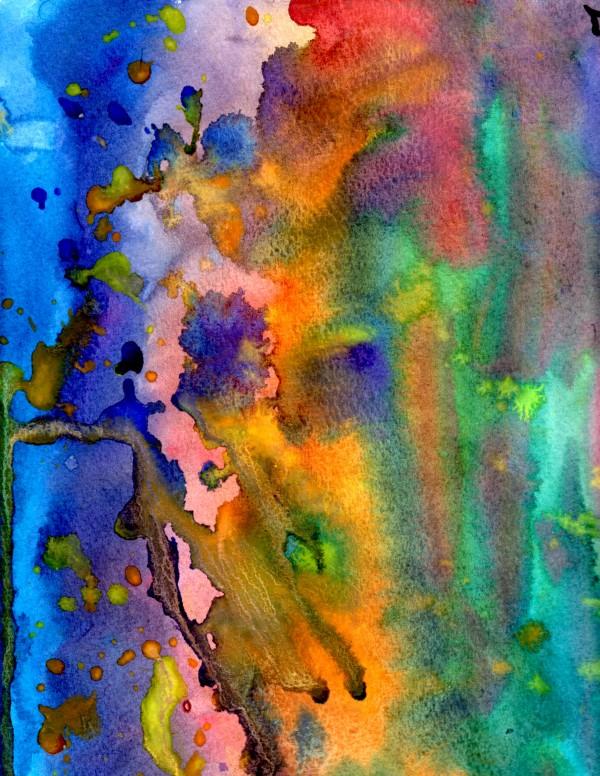 Rainbow Raindrops by Matthew Ulisse