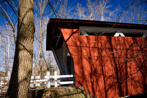 CVNP Everett Road Covered Bridge by DeweyHill Photography