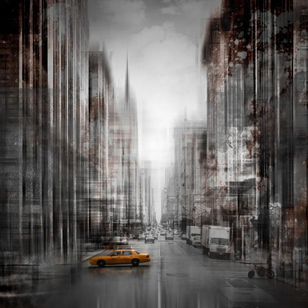 City-Art NYC 5th Avenue Impression sur toile