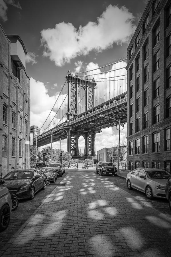 NEW YORK CITY Manhattan Bridge Canvas Print