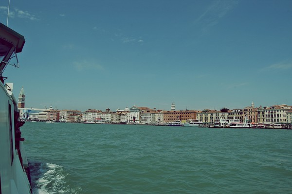 Venice on the see  Print