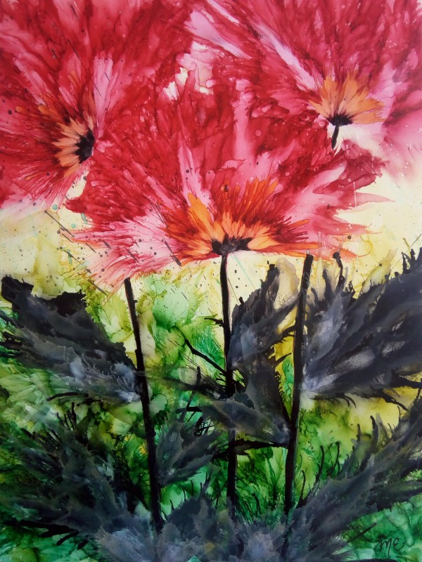 Poppies Galore by Michelle Erickson
