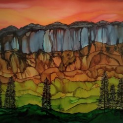Weeping Cliffs by Michelle Erickson