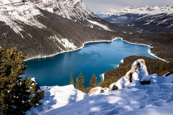 Peyto Lake Banff National Park by Mike Gould Photoscapes