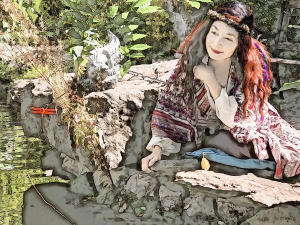 A FAIRY TALE STORY -Art- Photo  1-4  by Nazan Saatci