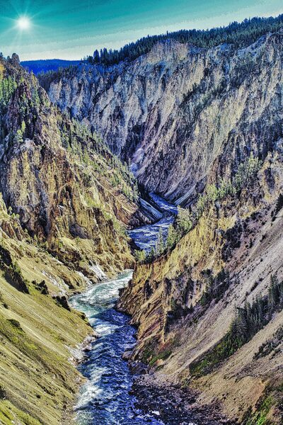 Yellowstone Canyon by Adventure Photography
