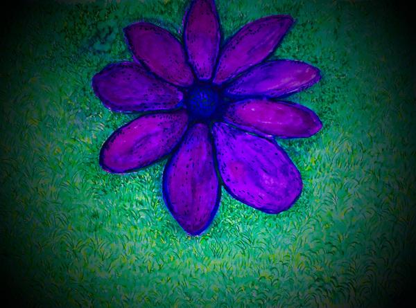 Fallen flower by Pallavi Sharma