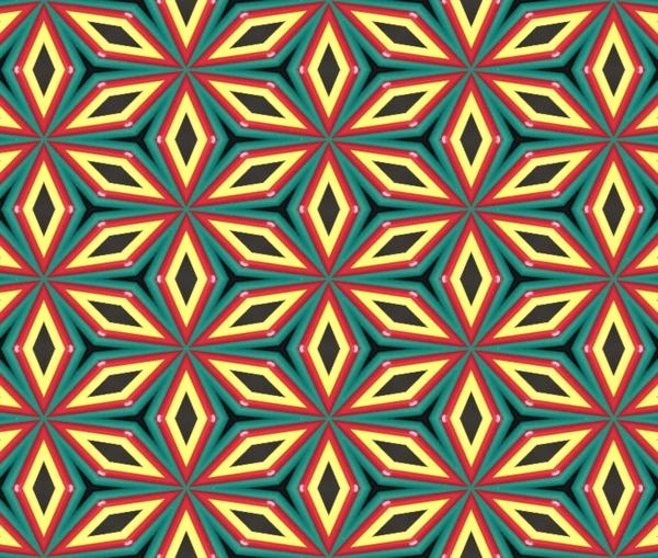 Colorful pattern by Pallavi Sharma