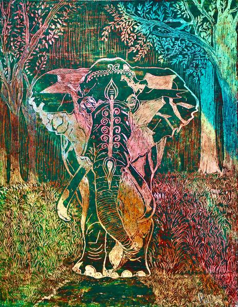 Elephant by Pallavi Sharma