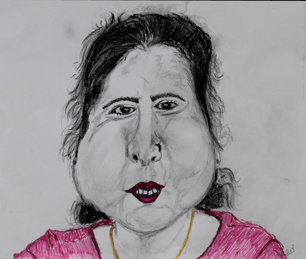 Self Portrait by Pallavi Sharma