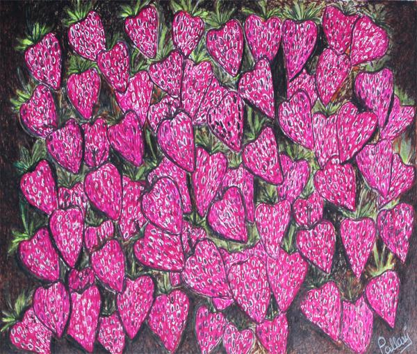 Strawberries by Pallavi Sharma