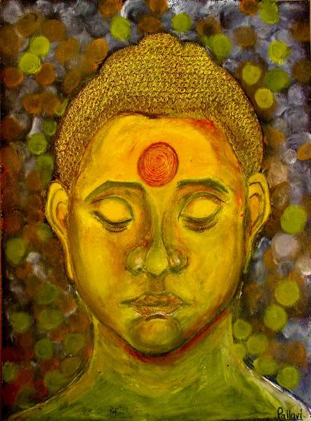 buddha by Pallavi Sharma