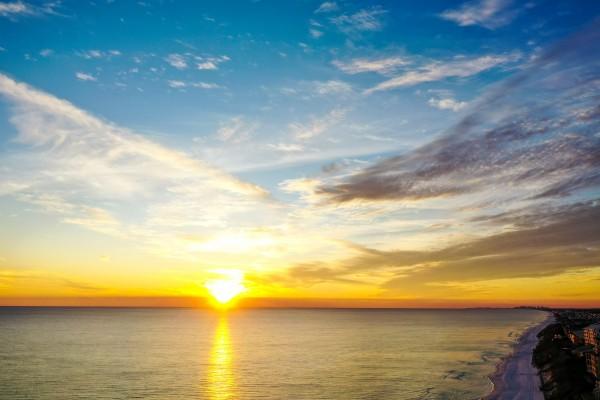 Blue Mtn Beach by Destin30A Drone