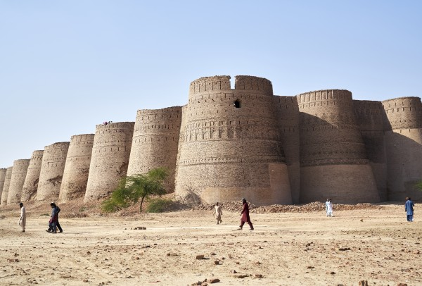 The majestic Derawar Fort in Pakistan by Pavel Gospodinov