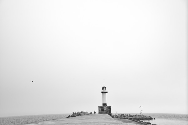 Minimalistic lighthouse by Pavel Gospodinov