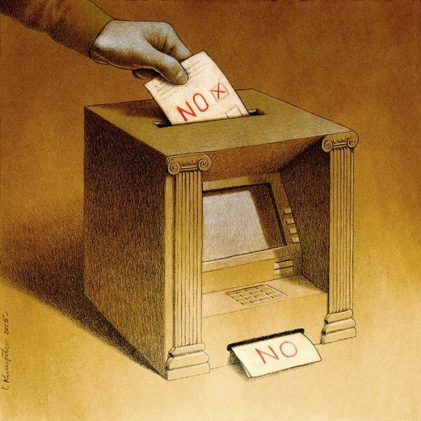 Vote Canvas Print