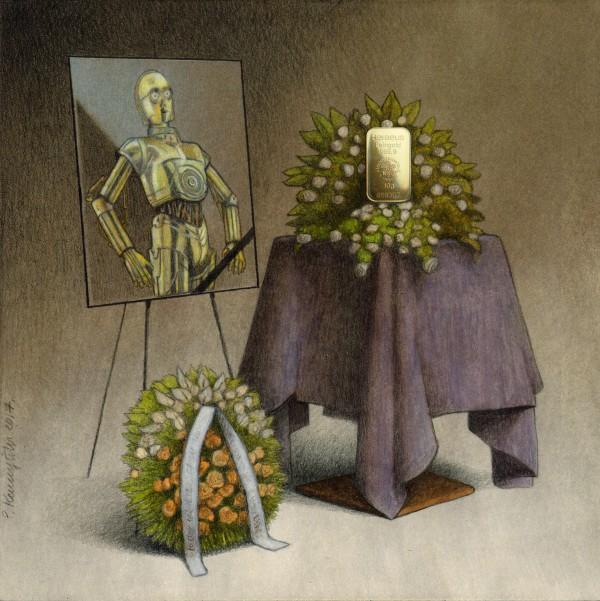 cremation Canvas Print