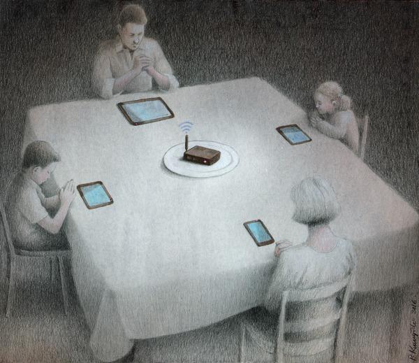 dinner Canvas Print