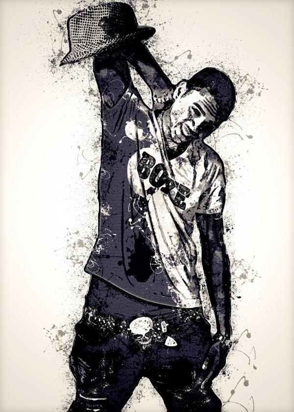 Chris Brown Vintage 10 Collection by RANGGA OZI