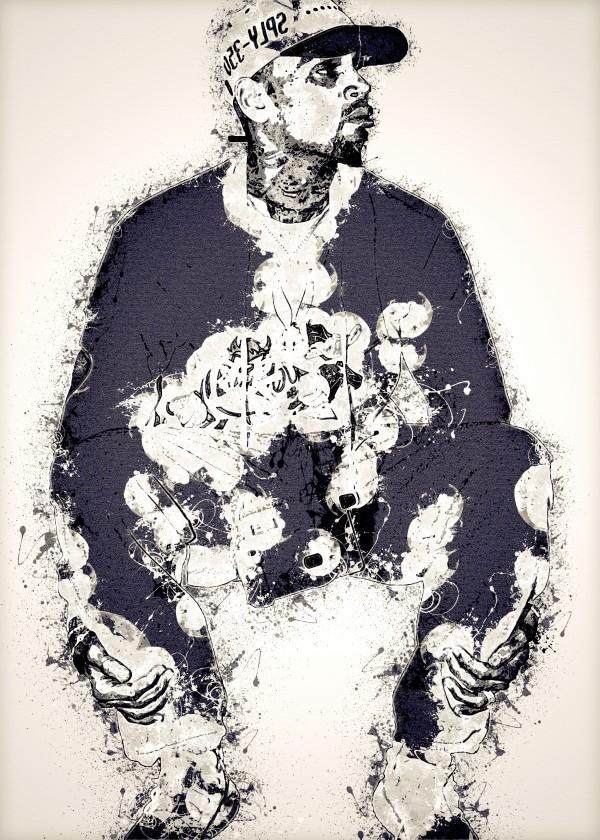 Chris Brown Vintage 7 Collection by RANGGA OZI