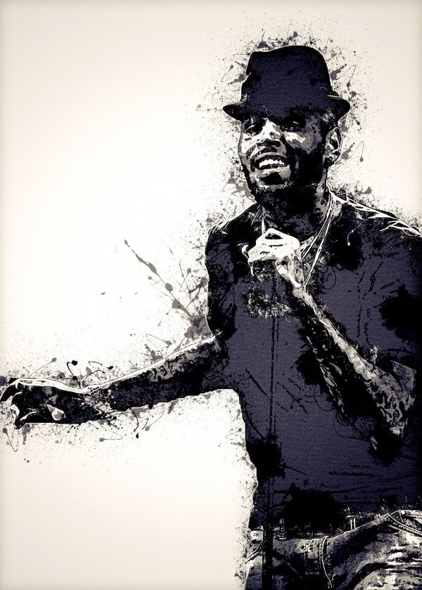 Chris Brown Vintage 12 Collection by RANGGA OZI
